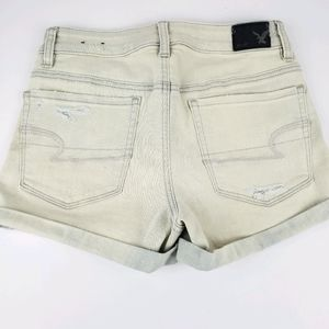 NWT American Eagle Hi-Rise Shortie Denim Shorts